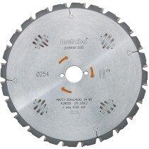Metabo 628220000 254 x 30mm 24 Tooth (negative rake) Circular Saw Blade
