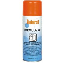 Ambersil 30227-AA Formula 20 (Twenty) Printable Release Agent for Plastics and Rubber 400ml