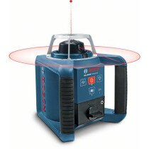 Bosch GRL300HVLR1WM4RC1 300m Professional Rotation Laser Level Kit