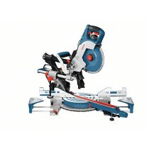 """Bosch GCM8SDE 8""""/216mm Double Bevel Sliding Mitre Saw with Variable Speed - 230V"""