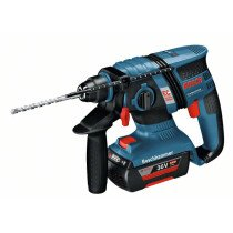 Bosch GBH 36VECCP 36V Brushless Compact SDS+ Hammer with 2x2.0Ah Batteries in L-BOXX