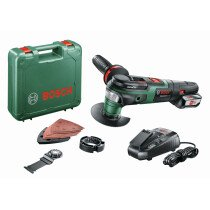 Bosch AdvancedMulti 18 18V Multifunction Tool (1x2.5Ah) in Case
