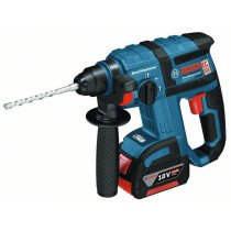 Bosch GBH18V-EC 18V Brushless SDS Hammer  2x 5.0Ah Batteries in L-BOXX