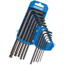 Draper 33694 MM Hex Key Set Ball End 10pc