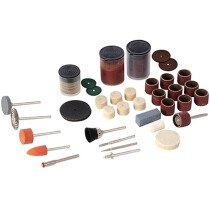 Silverline 349758 Hobby Rotary Tool 105 Piece Accessory Set