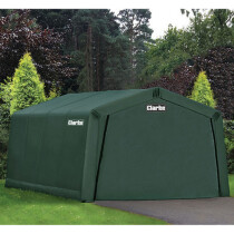 Clarke CIG81015 Heavy Duty Instant Garage Dark Green 4.5 X 3 X 2.4m 3503570