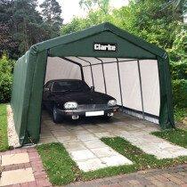 Clarke CIG81020 Heavy Duty Instant Garage Dark Green 6.1 X 3.0 X 2.4m 3503572