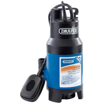 Draper 35467 SWP235ADW 230 V 235 L/Min Submersible Dirty Water Pump With 8.5 M Lift