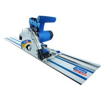 Scheppach CS55SET 160mm Plunge Saw 240v With 2 x 700mm Guide Rails, Connector and Clamps