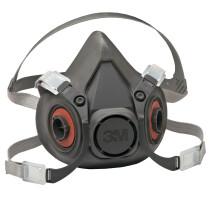 3M 6300 Half Facepiece Reusable Respirator (Large)