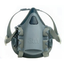 3M 7503 Half Facepiece Reusable Respirator (Large)