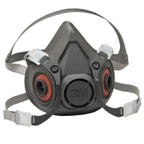3M 6300 Half Facepiece Reusable Respirator (Large)