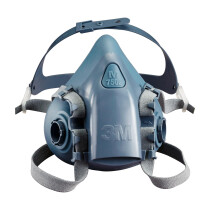 3M 7502 Half Facepiece Reusable Respirator (Medium)
