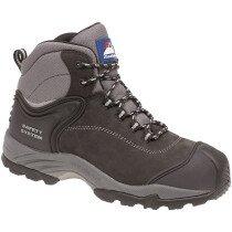 Himalayan 4103 Black Nubuck Leather S3 SRC Metal Free Safety Boot
