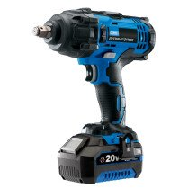 "Draper 43785 CIW204SF-BMC Storm Force® 20V 1/2"" Mid Torque Impact Wrench with 1 x 4Ah Battery and Charger (400Nm)"