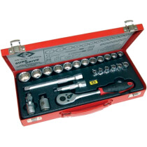 "CK T4656 Socket Set 3/8"" Drive Metric 23 Piece"