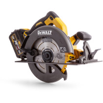 Dewalt DCS575T2 Circular Saw XR Flexvolt 54V Cordless 190mm with 2 x 6.0Ah Batteries in Carry case