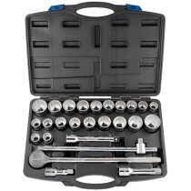 "Draper 48329 SD26AMA/C 3/4"" Square Drive Socket Set (26 Piece)"