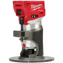 Milwaukee M18FTR-0X 18v Body Only Trim Router