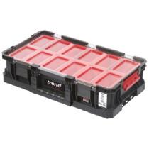 Trend MS/C/100B9 Modular Storage Compact Box 100mm c/w 9 bins