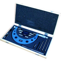 Linear Tools 50-400-006 Interchangeable Anvil Micrometer 0-6″ DIN 863