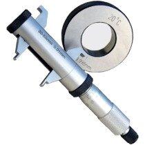 "Linear Tools 50-355-002 Large Range Inside Micrometer 0.2-2.2""DIN 863"