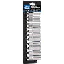 "Draper 50176 D9MD/MDS/E 3/8"" Drive Expert Multi Drive® Deep Socket Set (12 Piece)"