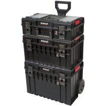 Trend MS/P/SET3C Pro Modular 3 Piece Cart Storage Set