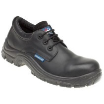 Himalayan 5113 Black Leather HyGrip Safety Shoe Metal Free S3 SRC