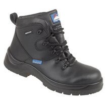 "Himalayan 5120 Black Leather HyGrip ""Waterproof"" Safety Boot Metal Free S3 SRC"