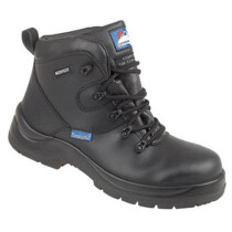 """Himalayan 5120 Black Leather HyGrip """"Waterproof"""" Safety Boot Metal Free S3 SRC"""