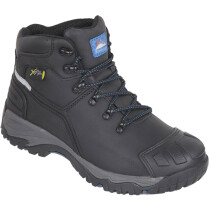 Himalayan 5208 Black Leather Waterproof S3 SRC Metguard Safety Boot