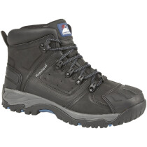 Himalayan 5206 Black Leather Waterproof S3 SRC Safety Boot