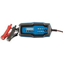 Draper 53488 BCI2 12V Smart Charger and Battery Maintainer (2A)