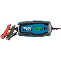 Draper 53489 BCI4 6V/12V Smart Charger and Battery Maintainer (4A)