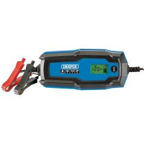 Draper 53490 BCI6 6V/12V Smart Charger and Battery Maintainer (6A)