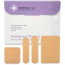 Dependaplast 536 Assorted Waterproof Plasters x 100