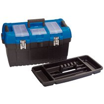 "Draper 53887 TB564 36L 22"" Tool/Organiser Box With Tote Tray"