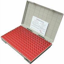 Linear Tools 53-882-000 Metric Pin Gauge Set 0.2 – 1.28mm 55 Piece