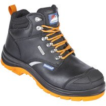 Himalayan 5402 Black Leather Upper Reflecto S3 SRC Waterproof Safety Boot