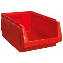 Sealey SSB01R Stackable Storage Bin Red 370 x 580 x 250mm Pack of 4