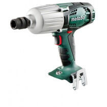 Metabo SSW18LTX600 Body Only 18v Li-ion Cordless Impact Wrench High Torque In Metaloc Carry Case
