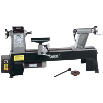 Draper 60989 WTL457 550W 230Vv Compact Digital Variable Speed Wood Lathe