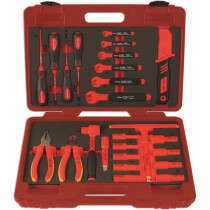 """Laser 6150 Insulated Tool Kit 3/8"""" Drive 25 Piece"""