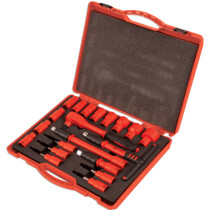 "Laser 6149 Insulated Socket Set 1/2"" Drive 20 Piece"