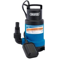 Draper 61621 SWP170DW Submersible Dirty Water Pump with Float Switch (166L/Min) (550W)