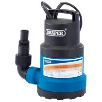 Draper 61668 SWP112 Submersible Water Pump with Float Switch (108L/Min)