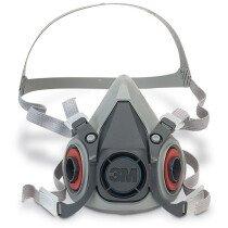 3M 6200 Half Facepiece Reusable Respirator (Medium)