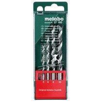 Metabo 627185000 4 Piece Universal Drill Bit Set