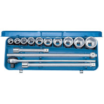 "Gedore 6280340 Socket Set 14 Piece 3/4"" Drive 32 EMU-2"